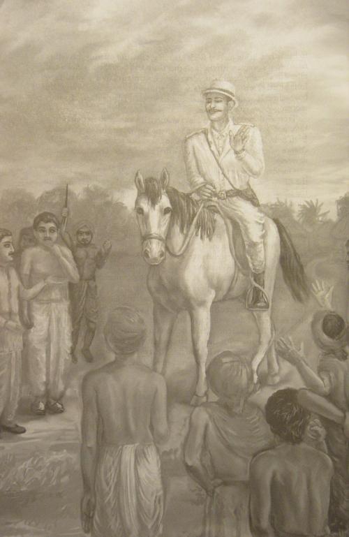Gurudeva als Polizeikommisar