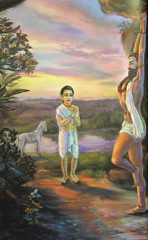 Gurudeva und Yogi