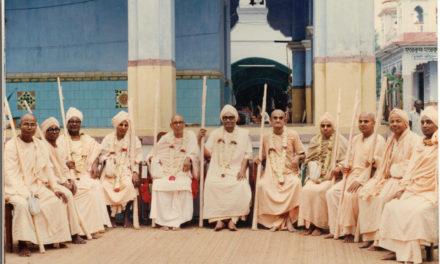 2.33 Erhalt der Śrī Gauḍīya Vedānta Samiti